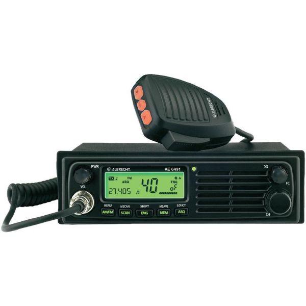 Albrecht AE 6491 CT LA-radiopuhelin 12/24V