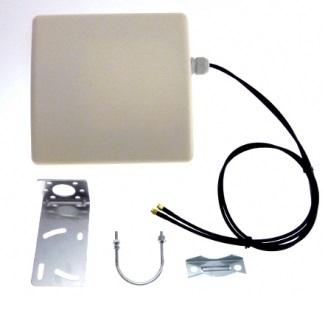 Arronna P808215 3G/LTE 8dBi MIMO Suunta-antenni 700-2700M SMA, 2x 1m LMR200