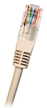 CAT6 UTP RJ45 Ethernet-kaapeli 0.5m Harmaa