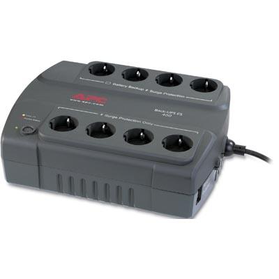 APC BE400-GR Back-UPS ES, 400VA/240W, virtapaneeli