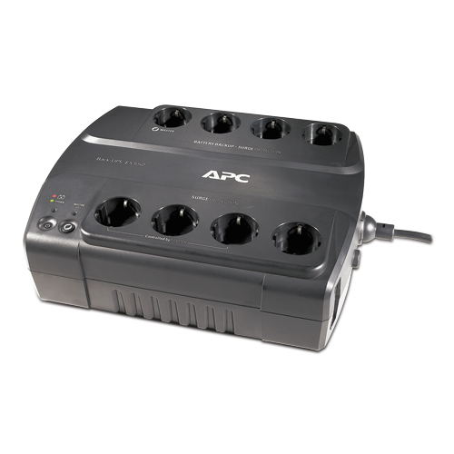 APC BE550G-GR Back-UPS ES, 550VA/330W, virtapaneeli