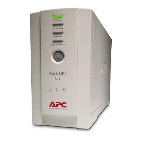 APC BK350EI Back-UPS CS 350, 350VA 120W 4 teleulosottoa/USB