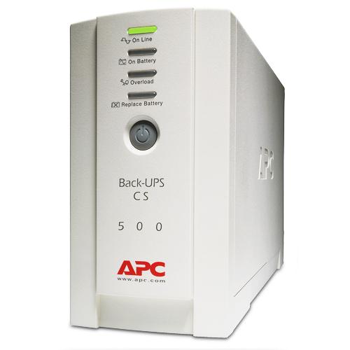 APC BK500EI Back-UPS CS 500, 500VA/300W, h