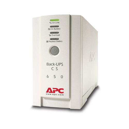 APC BK650EI Back-UPS CS 650, 650VA 400W, 4 liit