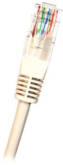 CAT6 UTP RJ45 Ethernet-kaapeli 0.5m Valkoinen