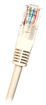 CAT6 UTP RJ45 Ethernet-kaapeli 0.25m Valkoinen