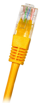 CAT5E UTP RJ45 Ethernet-kaapeli 7m Keltainen
