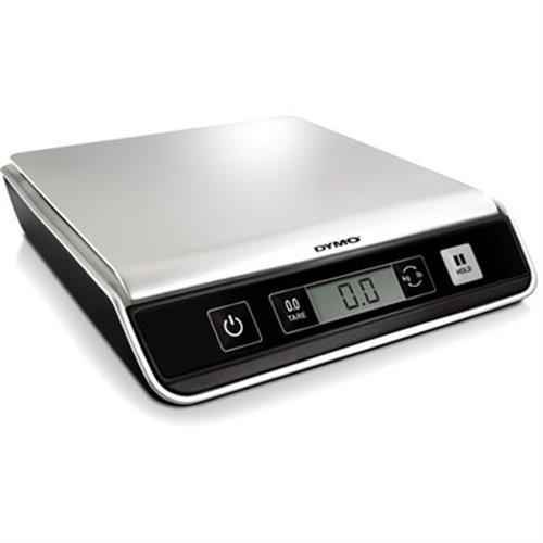 DYMO M10 kirje- ja pakettivaaka, digitaalinen näyttö, USB, 10kg, hopea/musta