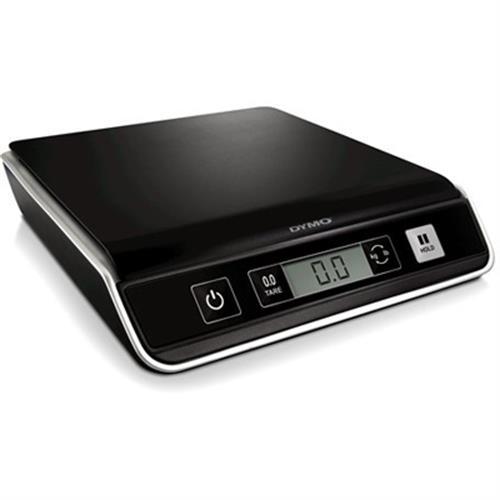DYMO M5 kirje- ja pakettivaaka, digitaalinen näyttö, USB, 5kg, musta
