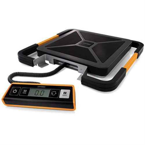 DYMO S180 pakettivaaka, digitaalinen näyttö, USB, 180kg, musta/hopea