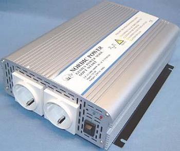 Nordic Power GP Invertteri-12V /230VAC-1000W SoftStart
