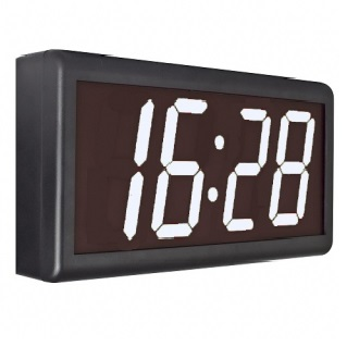 GlobalTime NTP-clock GTD368-4SW single sided, white