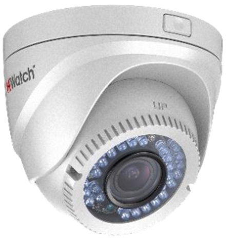 HiWatch DS-T119 (2.8-12mm) analoginen turret-kamera, 1 MP, IP66