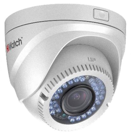 HiWatch DS-T228 (2.8-12mm) analoginen turret-kamera, 2 MP