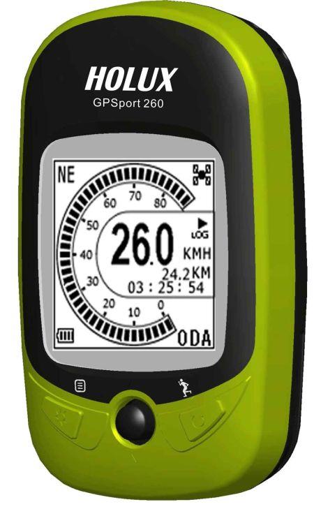 Holux GPSport 260 Outdoor Bike GPS, Water Proof
