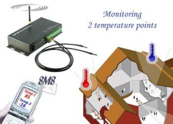 Legato GSMS-THR-ST SMS Alert Controller 8x IN