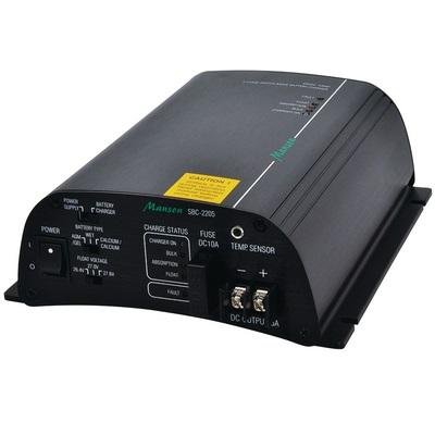Manson SBC-2205 3-vaihe automaattilaturi 24V/5A, 20-50Ah