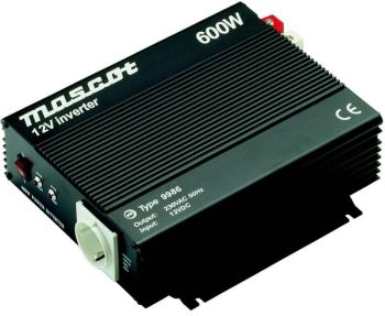 Mascot 9986 12VDC/230VAC 600W Invertteri