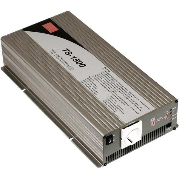Mean Well TS-1500 12VDC/230VAC 1500 W Siniaaltoinvertteri