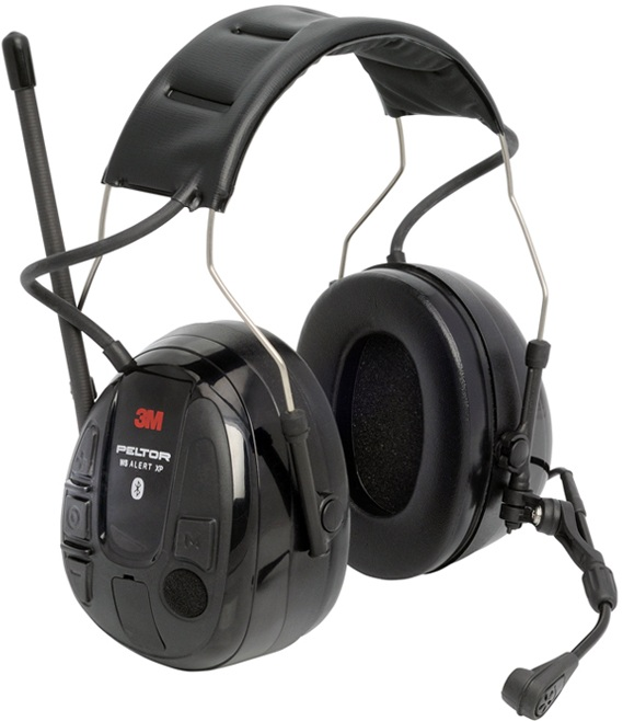Peltor Alert XP WS5 Headset Bluetooth, FM-radiolla