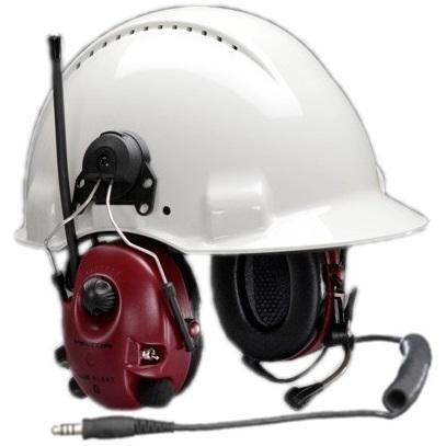 Peltor M2RX7P3E-07 Alert headset Kuuleva radiokuulonsuojain, kypäräkiinnitys