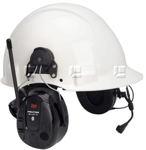 Peltor Alert XP WS5 Headset Bluetooth, FM-radiolla kypäräkiinnike