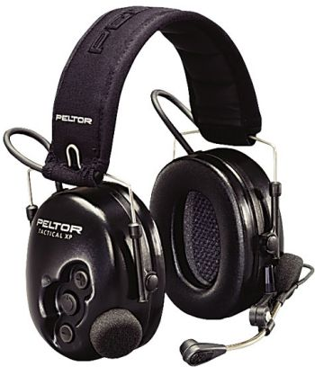 Peltor Tactical XP MT1H7F2-77 Headset Flex-77 päälakisangalla