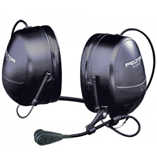 Peltor MT53H79B-77 Headset Flex -77 liitimellä, niskasanka