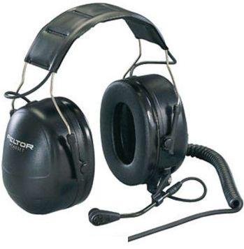 Peltor MT7H79A headset 230ohm dyn.mic J11 liitin päälakisanka