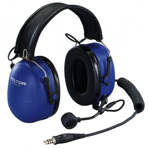 Peltor MT72H540F-50 Twin Cup Headset, ATEX, Kokoontaitettava päälakisanka