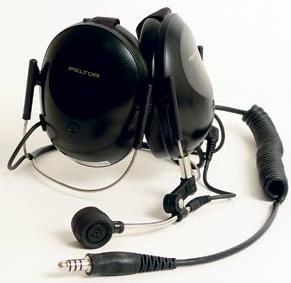 Peltor MT7H61B headset matalat kuvut niskasanka