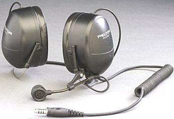 Peltor MT7H79B headset 230ohm dyn.mic J11 liitin niskasanka