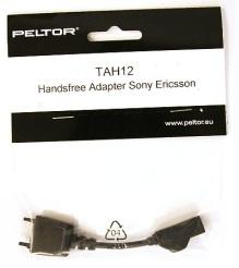 Peltor TAH12 handsfree-adapteri Sony Ericsson