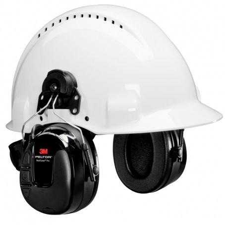 Peltor WorkTunes Pro HRXS220P3E radiokuulonsuojain kypäräkiinnityksellä