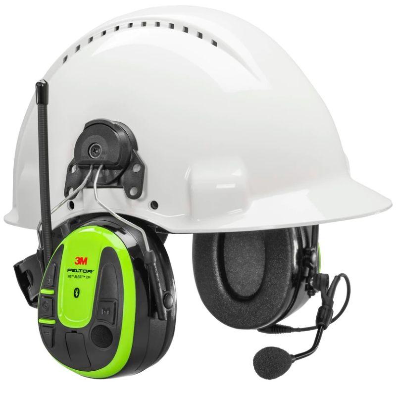 Peltor WS Alert XPI MRX21P3EWS6-ACK kuuleva Bluetooth MultiPoint kuulonsuojain