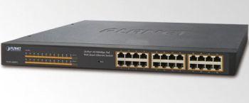 Planet FNSW-2400PS 24x10/100 (24x PoE) Switch 125W