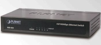 Planet FSD-503 5x 10/100BaseT Metal Case