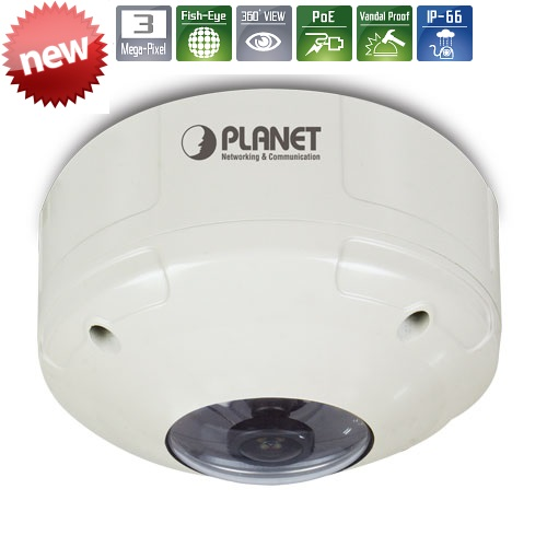 Planet ICA-8350 IP-Ulkokamera 3M Panorama PoE