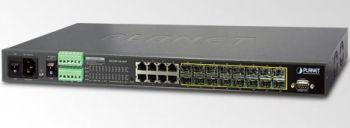 Planet MGSW-24160F 16x100/1000 SFP+8xGbit TP