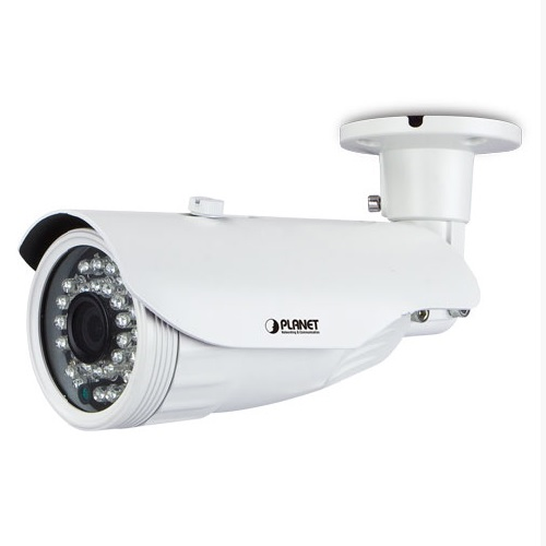 Planet ICA-3250 IP-Ulkokamera FullHD IR25m PoE IP66 3.6mm H.264 ONVIF WDR, 2DNR