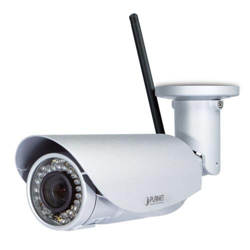 Planet ICA-W3250V IP-Ulkokamera FullHD IR25m WiFi IP66 3.6-10.5mm H.264 ONVIF Mi