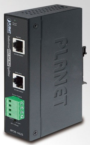 Planet IPOE-162S Industrial PoE IEEE802.3at Splitter