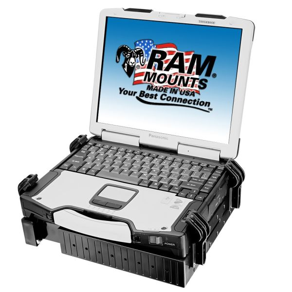 "RAM Mounts RAM-234-3 RAM Tough-Tray PC Yleisteline 10"" -16"""