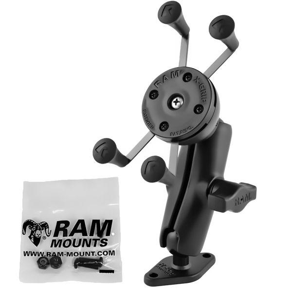 RAM Mounts RAM-B-102-UN7U X-Grip pidike soikealla pohjalla