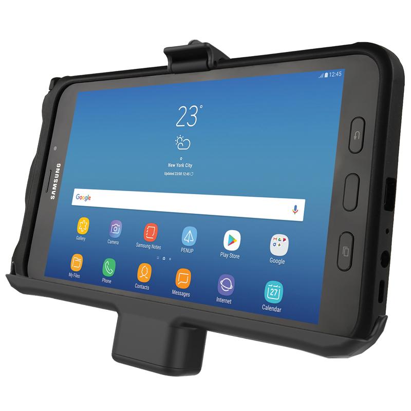RAM Mounts RAM-HOL-SAM7PAU Samsung Galaxy Tab Active2 8.0 pidike virransyötöllä