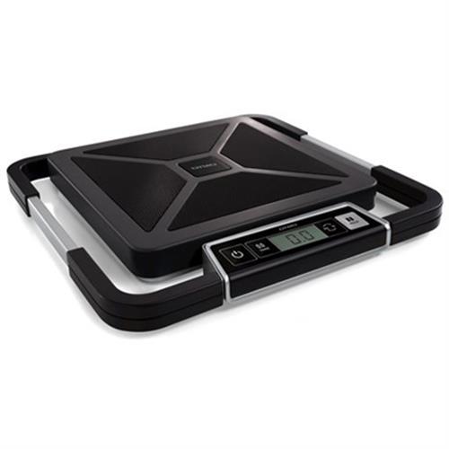 DYMO S100 pakettivaaka, digitaalinen näyttö, USB, 100kg, musta/hopea