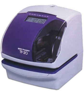 Seiko TP-20 Time/Date printer