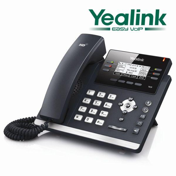 Yealink SIP-T41P Ultra elegant IP Puhelin