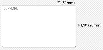 Seiko SLP-MRLB Yleistarra 28x51mm 1700 tarra rullassa