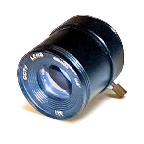 "SecTec CS lens 25mm 1/2"" F1.6, 20deg, Fixed iris"